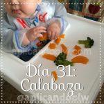 Día 31: Calabaza