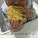 Tortita de arroz con plátano