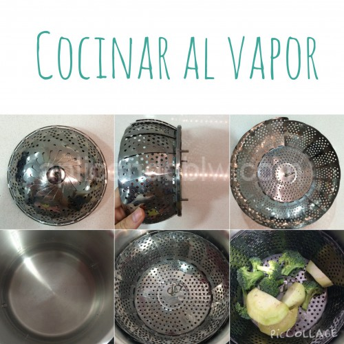 Cocinar al vapor aplicando blw for Recipientes para cocinar al vapor