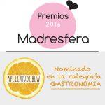 ¡Vótame en los Premios Madresfera 2016!