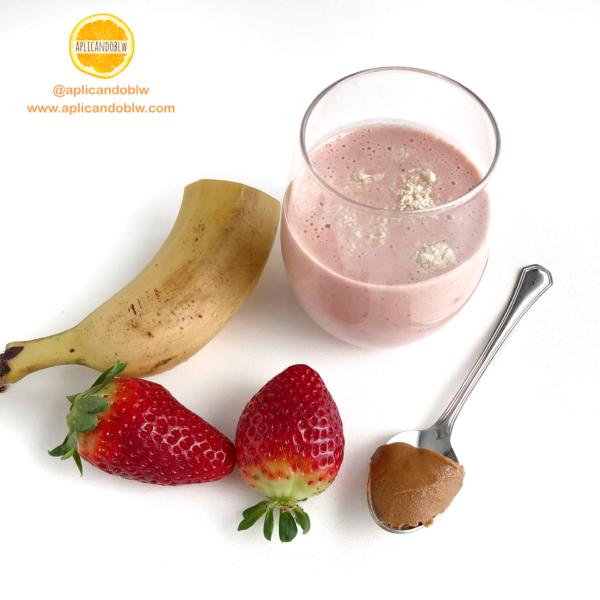 batido de fresa sin azúcar - batido de frutas sin azúcar